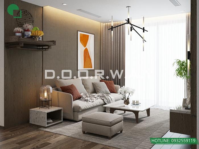 (11)Mẫu thiết kế căn hộ cung cư đẹp tại The Zei - Mỹ Đình