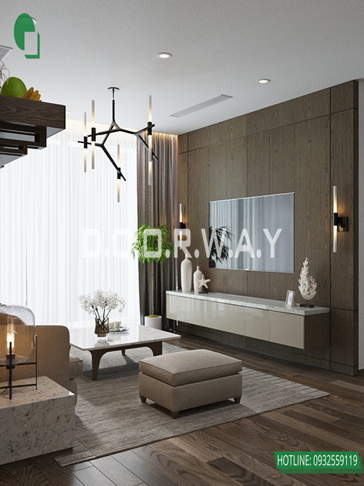 (4)Mẫu thiết kế căn hộ cung cư đẹp tại The Zei - Mỹ Đình