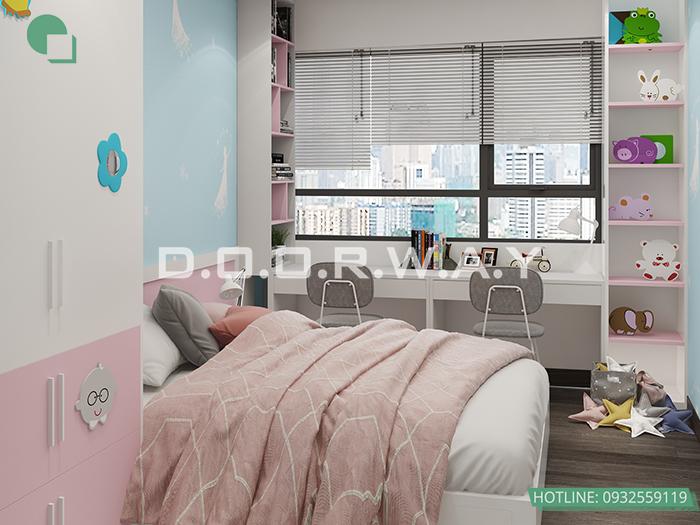 (10)Thiết kế - thi công phòng ngủ hiện đại// Nội thất Doorway