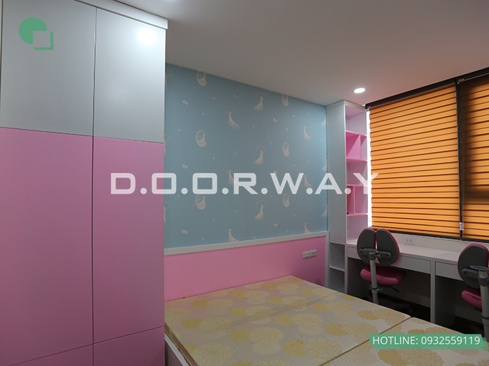(2)Thiết kế - thi công phòng ngủ hiện đại// Nội thất Doorway