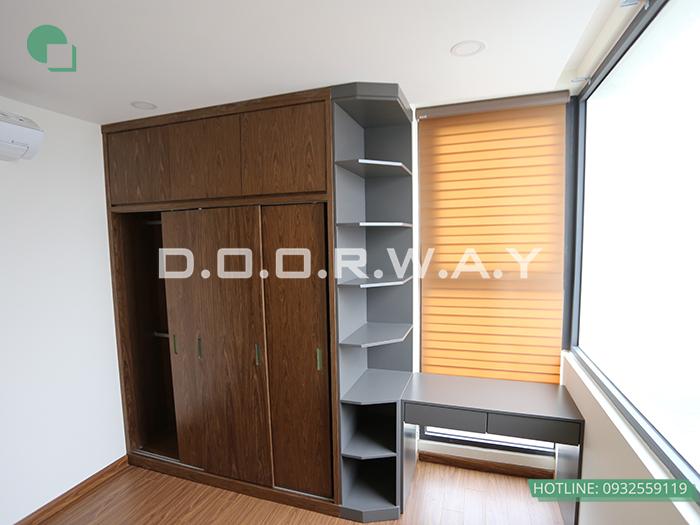 (3)Thiết kế - thi công phòng ngủ hiện đại// Nội thất Doorway