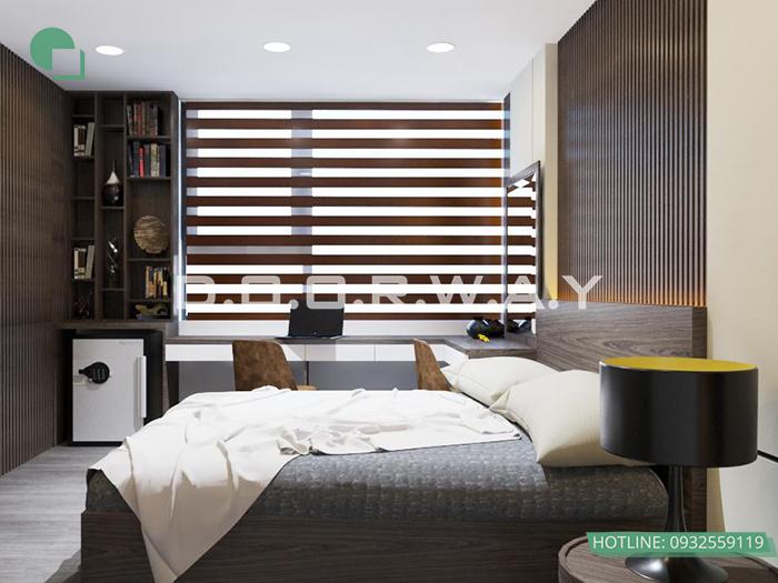 (7)Thiết kế - thi công phòng ngủ hiện đại// Nội thất Doorway