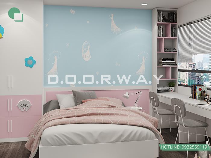 (9)Thiết kế - thi công phòng ngủ hiện đại// Nội thất Doorway