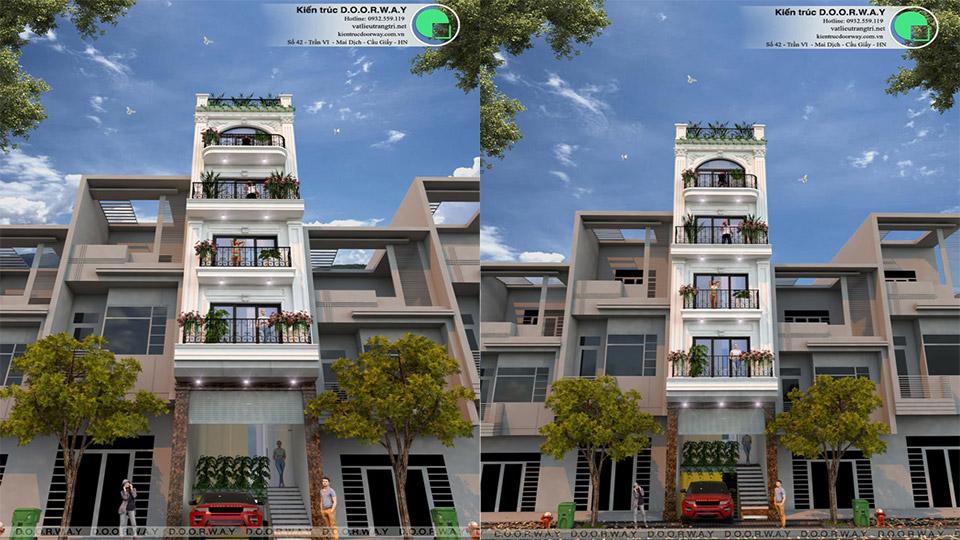 Mẫu thiết kế nhà phố tại Hà Nội