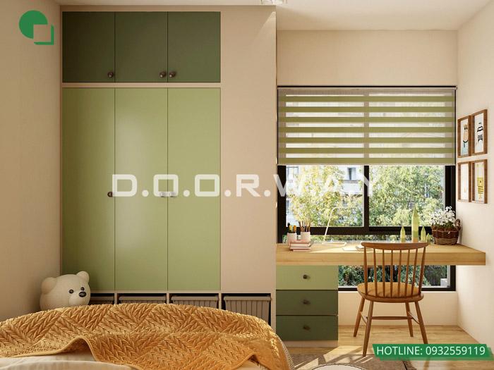 (1)Thiết kế nội thất căn hộ 104m2 Sky Central Định Công