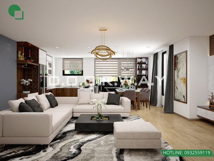 (10)Thiết kế nội thất căn hộ 104m2 Sky Central Định Công