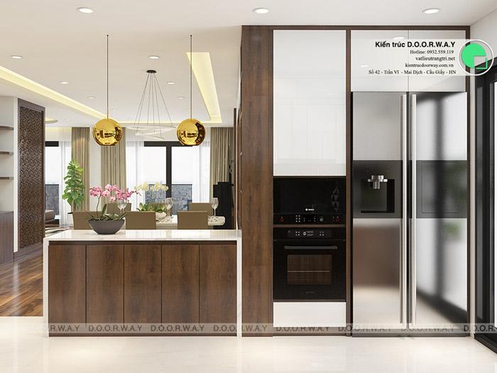 (11)Thiết kế nội thất căn hộ 104m2 Sky Central Định Công