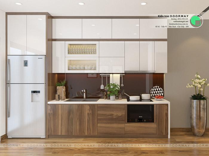 (12)Thiết kế nội thất căn hộ 104m2 Sky Central Định Công