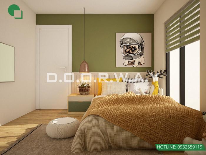 (2)Thiết kế nội thất căn hộ 104m2 Sky Central Định Công