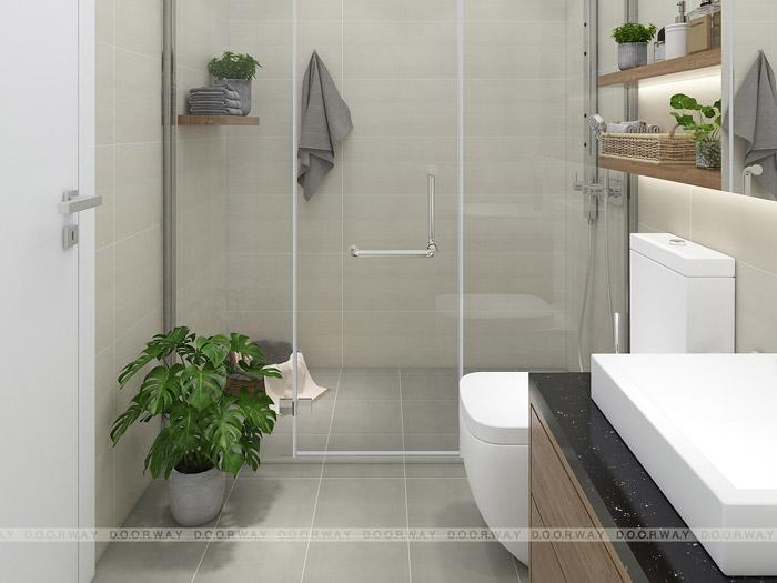 (3)Thiết kế nội thất căn hộ 104m2 Sky Central Định Công