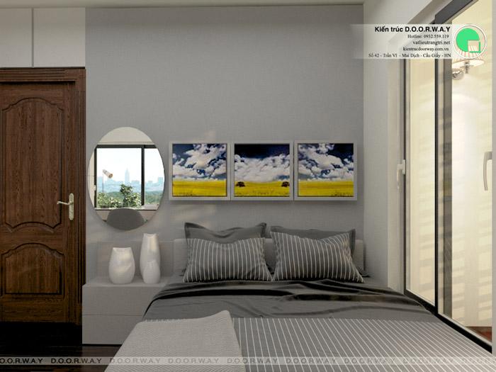 (6)Thiết kế nội thất căn hộ 104m2 Sky Central Định Công