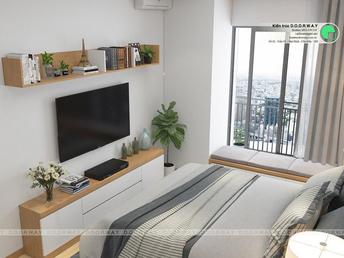 (7)hiết kế nội thất căn hộ 104m2 Sky Central Định Công