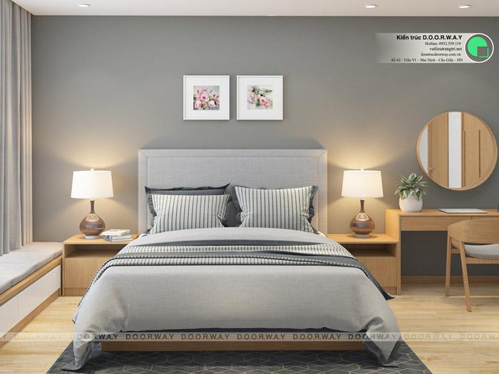 (8)Thiết kế nội thất căn hộ 104m2 Sky Central Định Công