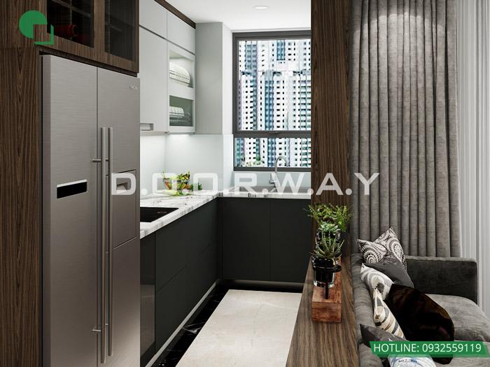 (10)Thiết kế nội thất căn 2pn Sky Central