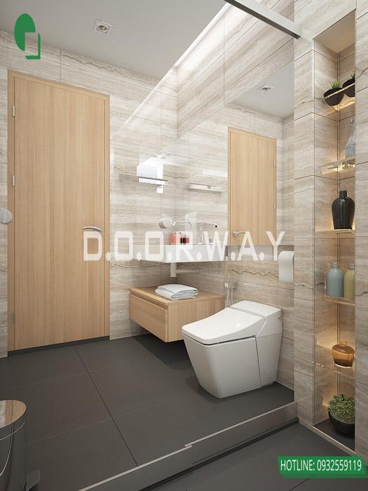 (2)Thiết kế nội thất căn 2pn Sky Central