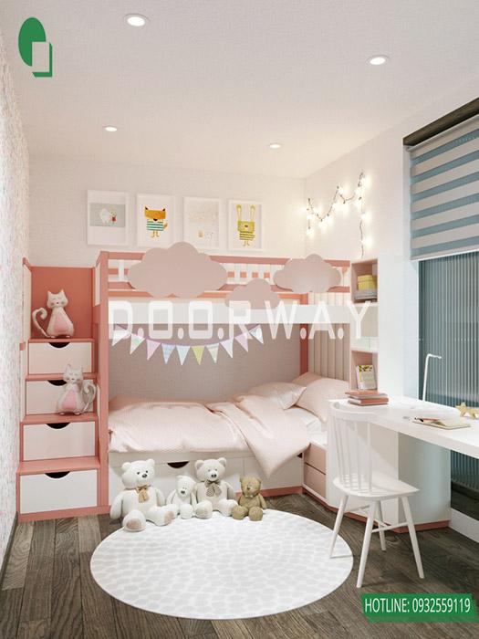 (4)Thiết kế nội thất căn 2pn Sky Central