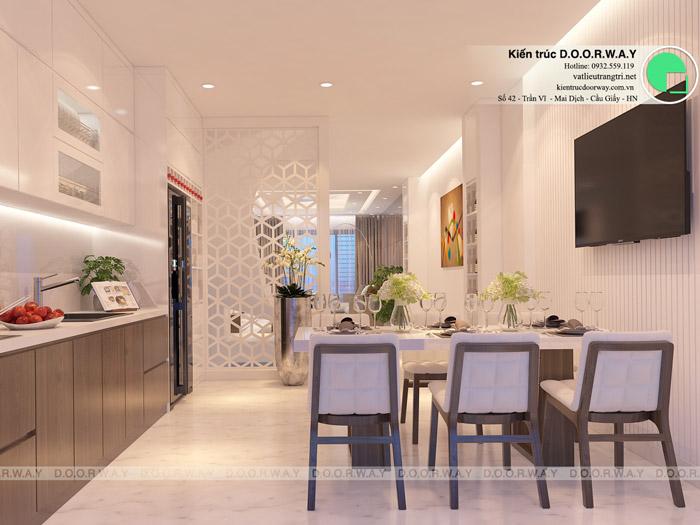 (13)Thiết kế nội thất căn 3pn Sky Central