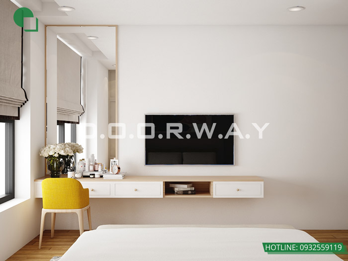 (7)Thiết kế nội thất căn 3pn Sky Central