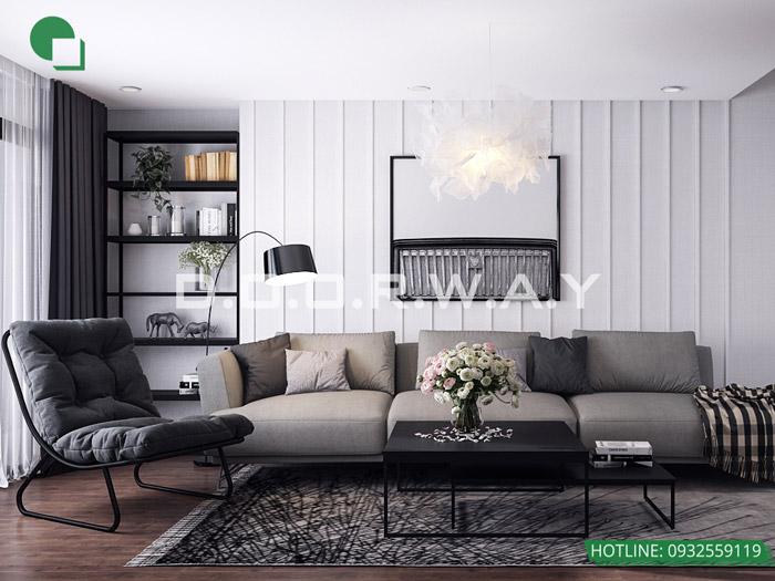 (8)Nội thất chung cư phong cách scandinavia