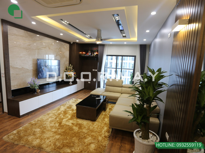 (13)Thi công nội thất chung cư hiện đại