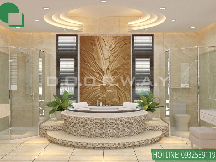 (3)Thiết kế biệt thự tân cổ điển đẹp