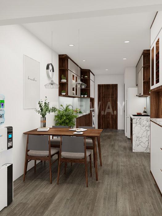 (2)Thiết kế nhà cho người nước ngoài thuê diện tích từ 30m2 - 50m2