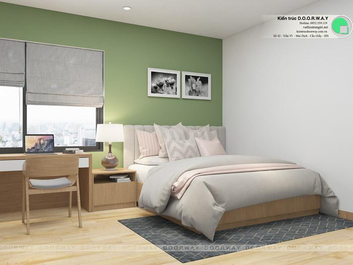 (1)Tư vấn thiết kế nội thất căn 66m2 Sky Central