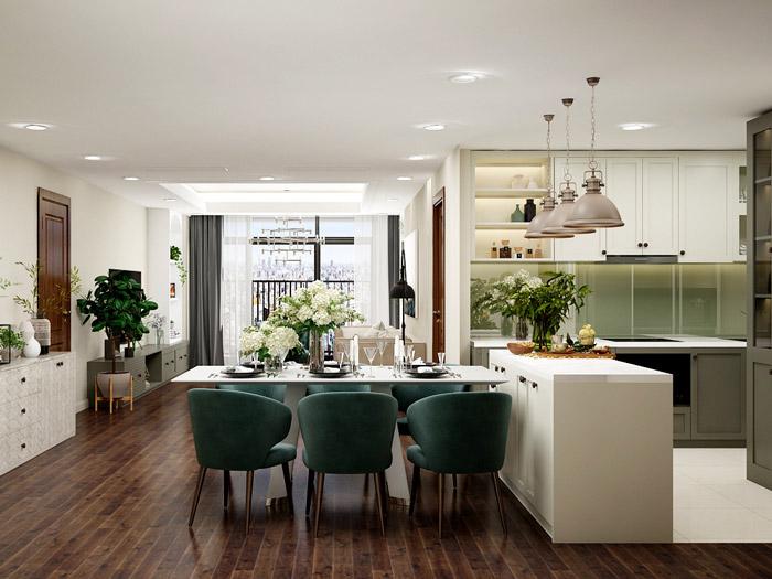 (12)Tư vấn thiết kế nội thất căn 66m2 Sky Central