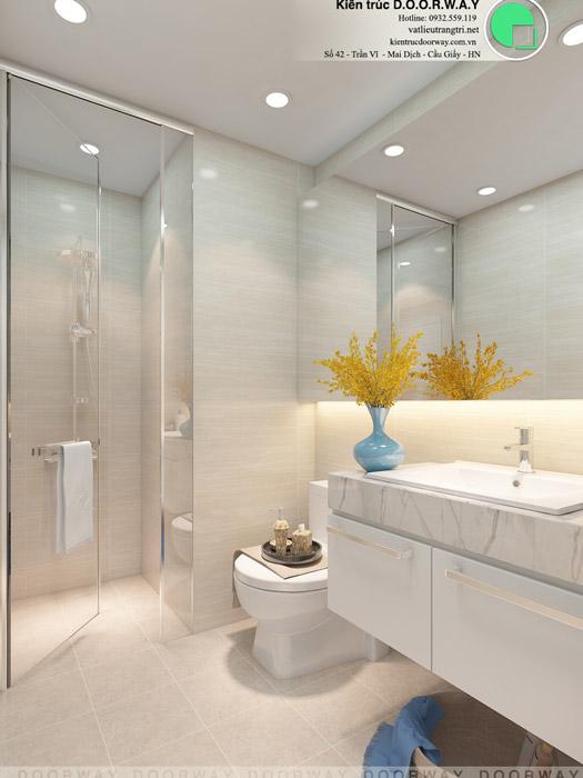 (3)Tư vấn thiết kế nội thất căn 66m2 Sky Central