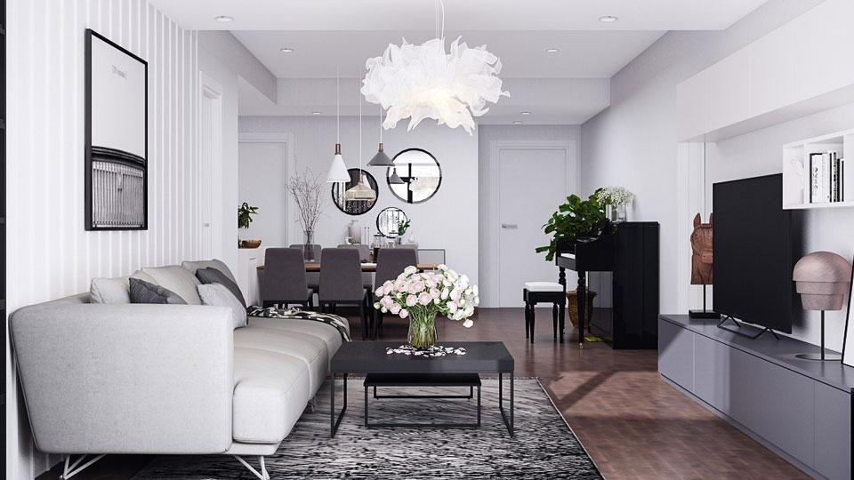 Nội thất chung cư phong cách scandinavia - vẻ đẹp đơn giản tinh tế và tiện nghi