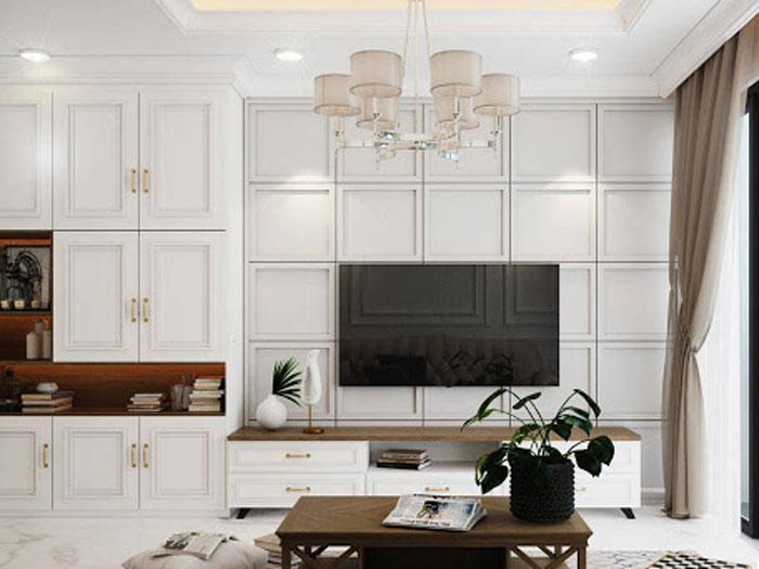 (5)5 lưu ý khi thiết kế nội thất chung cư Tân Cổ điển cần nằm rõ