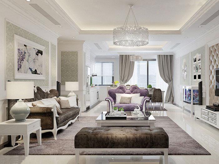 (6)5 lưu ý khi thiết kế nội thất chung cư Tân Cổ điển cần nằm rõ