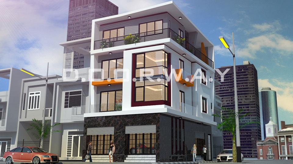 Thiết kế nhà phố hiện đại - đơn vị thiết kế chuyên nghiệp tại Hà Nội