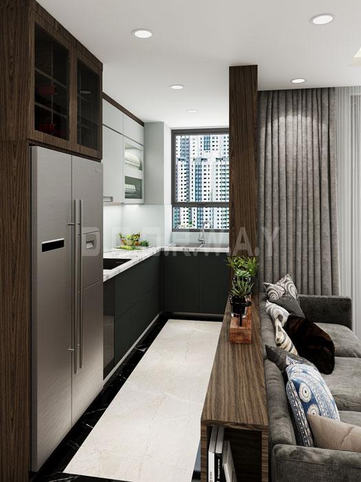 (14)Thiết kế nội thất chung cư đẹp hiện đại, công năng hợp lí