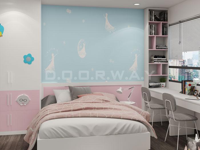 (15)Thiết kế nội thất chung cư đẹp hiện đại, công năng hợp lí
