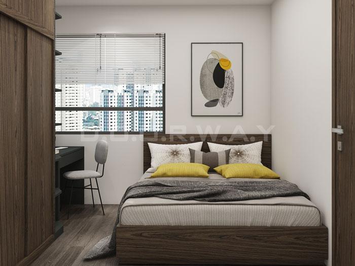 (18)Thiết kế nội thất chung cư đẹp hiện đại, công năng hợp lí