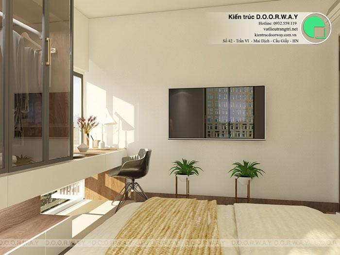 (5)Thiết kế nội thất chung cư 3pn đẹp hiện đại