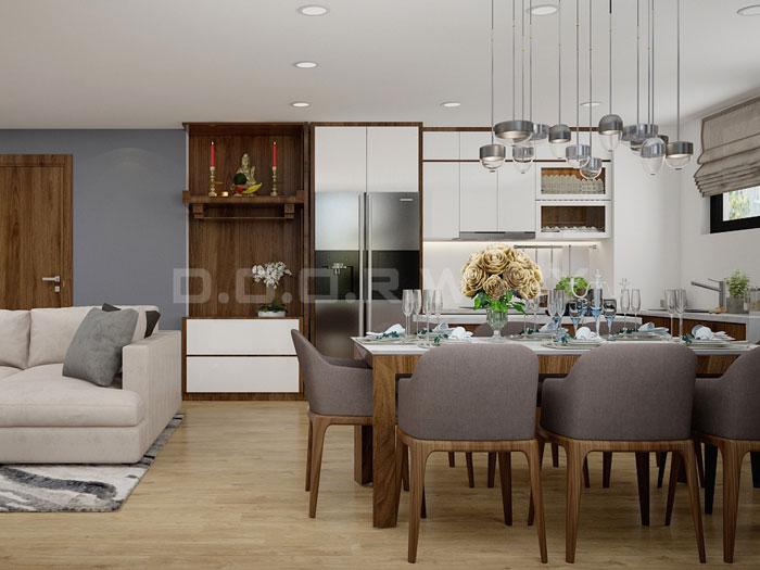 (7)Thiết kế nội thất chung cư 3pn đẹp hiện đại