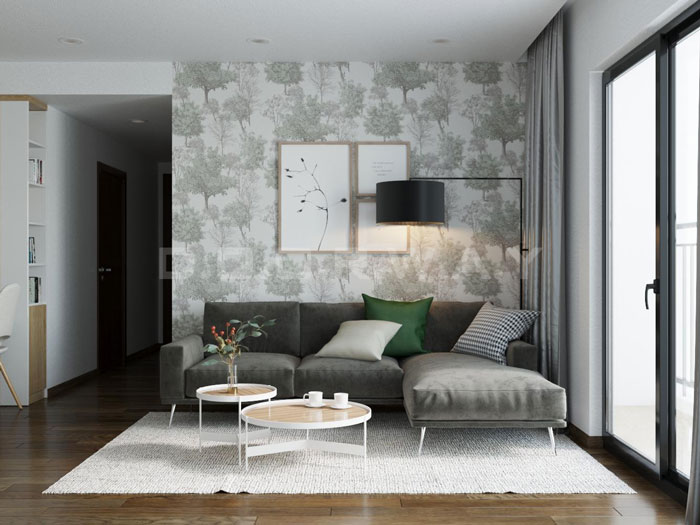 (4)Thiết kế nội thất chung cư đẹp hiện đại, công năng hợp lí