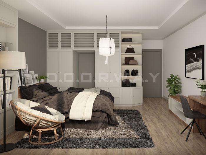 (5)Thiết kế nội thất chung cư 90m2