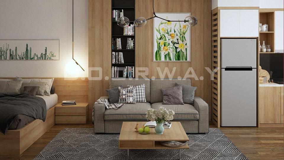 Thiết kế nội thất chung cư nhỏ đẹp, tiện nghi