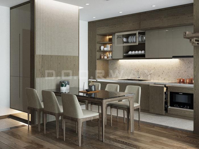 (4)Thiết kế nội thất chung cư đẹp hiện đại