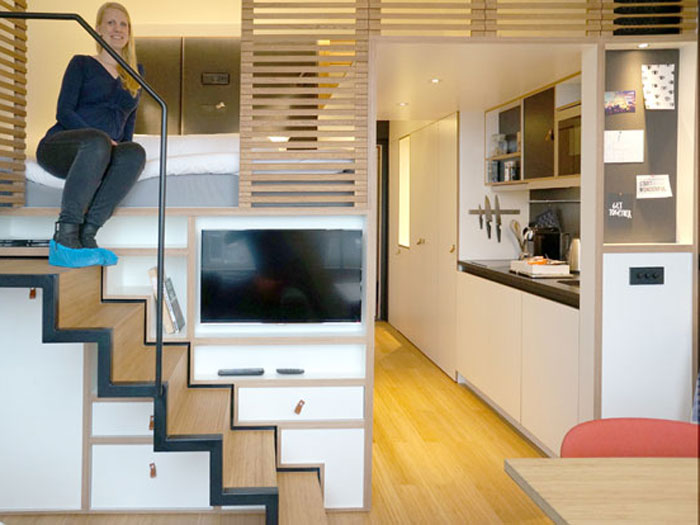 (1)Thiết kế nội thất chung cư thông minh - Xu hướng nội thất cho các bạn trẻ