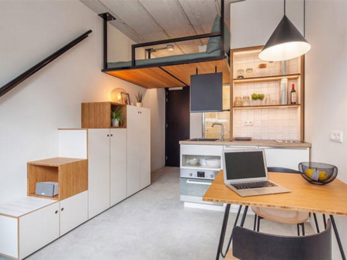 (3)Thiết kế nội thất chung cư thông minh - Xu hướng nội thất cho các bạn trẻ