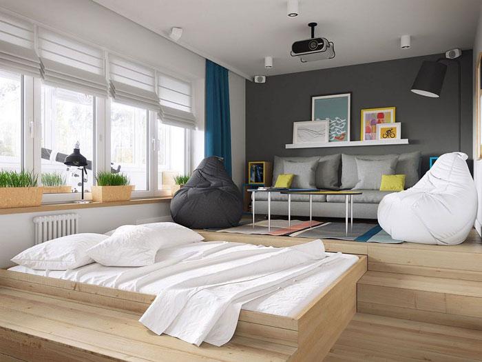 (4)Thiết kế nội thất chung cư thông minh - Xu hướng nội thất cho các bạn trẻ
