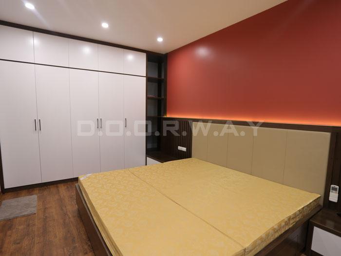 (14)Thức tế thiết kế thi công căn hộ chung cư 3 phòng ngủ hiện đại