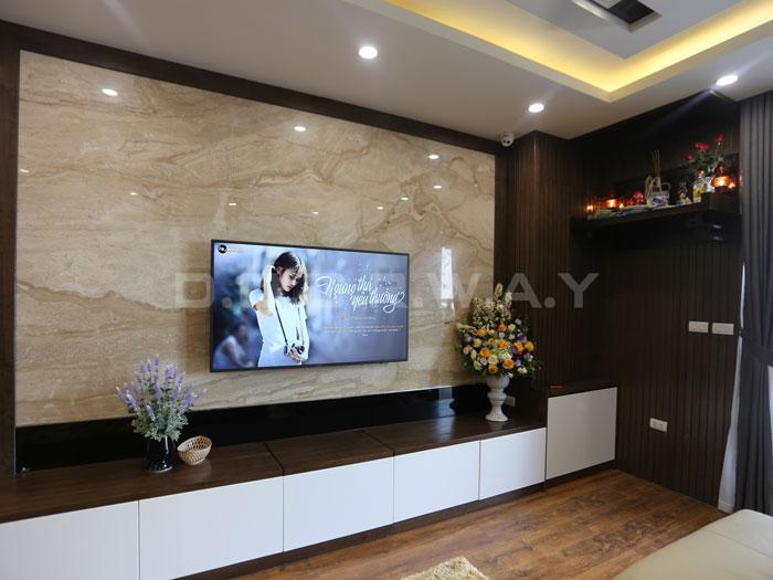 (17)Thức tế thiết kế thi công căn hộ chung cư 3 phòng ngủ hiện đại