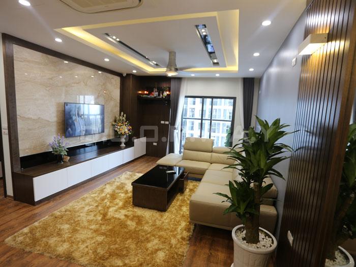 (19)Thức tế thiết kế thi công căn hộ chung cư 3 phòng ngủ hiện đại