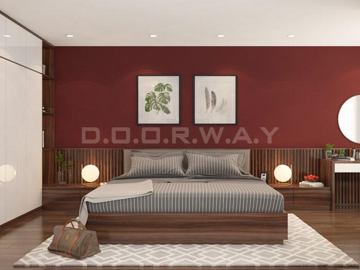 (4)Thức tế thiết kế thi công căn hộ chung cư 3 phòng ngủ hiện đại