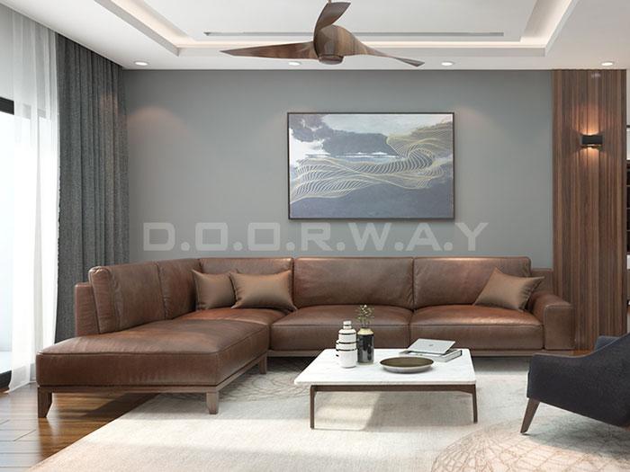 (9)Thức tế thiết kế thi công căn hộ chung cư 3 phòng ngủ hiện đại